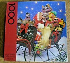 Vintage SPRINGBOK A Muppet Christmas Party 1000 Piece Puzzle 1980 Complete 30X24