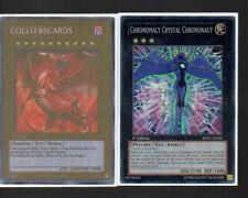 Yugioh Card - Super Rare Holo - Chronomally Crystal Chrononaut REDU-EN042 1st Ed