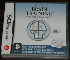 Nintendo DS. Dr Kawashima's Brain Training How Old is Your Brain? (incl. Sudoku)