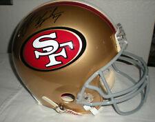 Colin Kaepernick SF 49ers Autographed Proline Helmet - Schwartz COA A148679