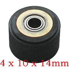 Silica Gel Pinch Roller Wheel For Mimaki Vinyl Cutter 4 X 10 X 14mm