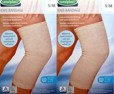 2 Sensiplast Kniebandage S/M Knieverband Stütze Rheuma Bandage Kniegelenkstütze