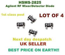 Agilent/Mezclador de RF Detector Diodo Hsms - 2825 __________ Lote de 4 ____________