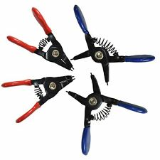 "3"" 75mm Mini Circlip Pliers Circlips Internal And External Bent Straight Set 4pc"