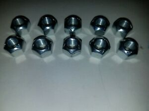 Volvo 240 242 244 245 740 745 760 780 850 940 8MM Exhaust Maniflold Locking Nuts