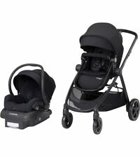 Maxi Cosi Zelia Travel System Night Black- Stroller & Mico 30 Car Seat Brand New