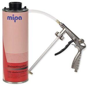 Mipa UBS Set Steinschlagschutz 1L + Druckluft Unterbodenschutz Pistole