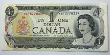 Canada $1 Dollar Bill 1973 *GY Replacement GUNC