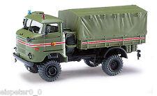 Busch 95216 ,Espewe: IFA W50 LA / A » Servicio COMANDANTE «,H0 vehículo modelo 1
