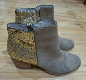 Womens Wittner Leather Boots Size 39 / 8