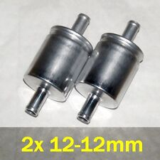 2x LPG Filter 12/12mm for Sequential Injection -2pcs set- E20 Class 2 CNG - NEW!