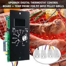 Upgrade Digital Thermostat Control Board + Temp Probe For Pit Boss Pellet Grills