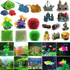 Artificial Water Grass Resin Landscaping Ornament For Aquarium Fish Tank Decor