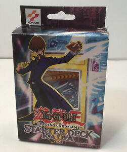 Yu-Gi-Oh TCG Starter Deck Kaiba Edition English Version Opened but Unused 1996