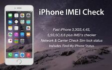 iPhone IMEI Carrier Check Sim lock status & Find my iPhone Fast 1 to 12 hours