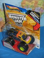 HOT WHEELS MONSTER JAM BLACK STALLION TRUCK CRUSHABLE CAR MAX-D 1st ED BRAND NEW