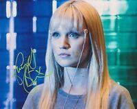 Emily Berrington HAND SIGNED 8x10 Photo Autograph, Humans, The Inbetweeners B