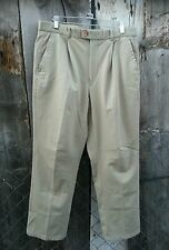 BALMAIN PARIS beige DRESS/GOLF  PANTS 87/87 cm  SIZE 34 US