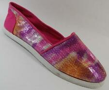 NEW Girls Youth's PARIS BLUES AZUSA PINK  Flats Slip On Loafers  Shoes SZ 3