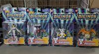 Digimon action figure lot, new Bandai Gatomon Impmon Patamon Taomon season 3