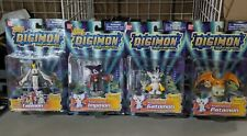 Digimon action figure lot, new Bandai Gatomon Impmon Patamon Taomon season 3