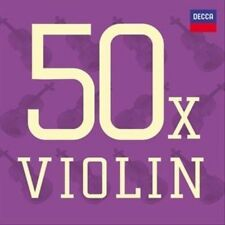 New: Kyung Wha Chung, Maurice Hasson,: 50 X Violin [3 CD]  Audio CD