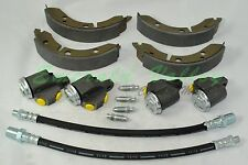 Morris Minor 1000 1956-1962 Front Brake Kit (Shoes, Cylinders and Hose)