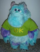 "Disney Monsters University OK Frat Pack T-Shirt Sulley Sully 9"" Soft Plush Toy"