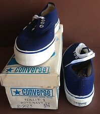 "8-Converse ""Nautilus"", USA made, 1975 in Orig. Box, Unworn, DECK SHOES 1-4 1/2"
