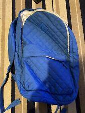 BNWT Topman Black And Navy Stripe  Rucksack Backpack RRP £25