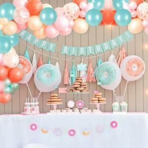 Rose Gold Balloon Garland Arch Kit Birthday Wedding Baby Shower Party Decoration