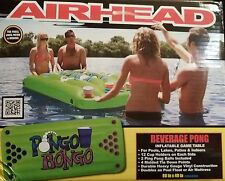 Airhead Pongo Bongo Beverage Beer Pong Inflatable Game Table Raft Pool Float FUN