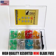 120pc MINI Blade FUSE Assortment Auto Car Motorcycle SUV  + REMOVAL TOOL