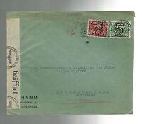 1941 Netherlands Censored Commercial Cover to Litzmannstadt Poland GG