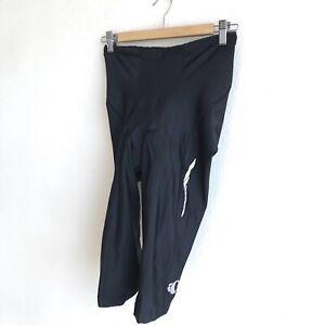 Pearl Izumi Select Cycling Pants Capri Length Black Padded Womens Size Medium