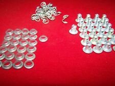 LOT OF 75 DZUS BUTTONS SPRINGS GROMMET 1/4 TURN FASTNER A5-40