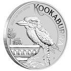 Silbermünze 1 oz Kookaburra 2022 in Stempelglanz gekapselt