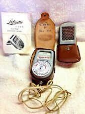 Lafayette Film Camera Light Exposure Meter F349 Works Great Vintage Rare