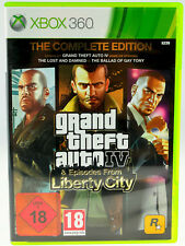 GRAND Theft Auto: Episodes from Liberty City (Microsoft XBOX 360, 2009, DVD-BOX)