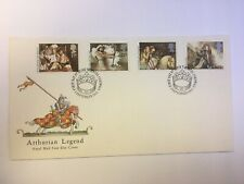 FDC ARTHURIAN LEGEND POSTMARKED TINTAGEL CORNWALL 3 SEPTEMBER 1985