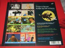Blok 192** 4165/74** Kuifje op het Scherm** Tintin à l'écran MNH - Ongeplooid