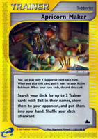 Apricorn Maker - 121/144 - Uncommon - Skyridge - NM - Pokemon