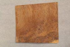 Myrtle burl veneer raw wood veneer 8''x 9 1/2''x 1/42'' ONE SHEET