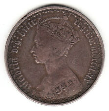 1869 Great Britain Queen Victoria Silver Florin. MDCCCLXIX. Die # 17