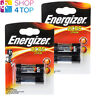 2 ENERGIZER 2CR5 LITHIUM BATTERIES 6V DL245 PHOTO CAMERA EXP 2027 NEW