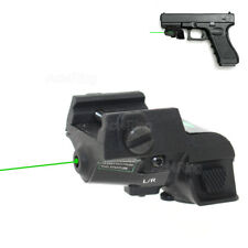 Green Dot Laser Sight Rechargeable Subcompact Pistol Green Laser Scope 20mm Rail