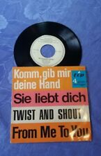 "THE RAVERS (7"") BEATLES CV / 4 SONG EP [GERMAN 45 PS TWIST AND SHOUT..**PROMO!!]"