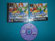 17.12.16.1 Wild rapids Sony Playstation 1 PS1 Jeu cd notice