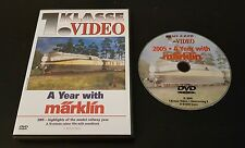2005: A Year With Marklin (DVD) model trains railway railroads hobby NTSC
