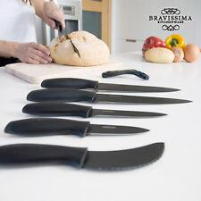 Cuchillos Cermicos profesionales Bravissima Kitchen Titanium (7 piezas)